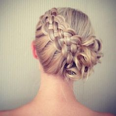 Nice hairstyle :)