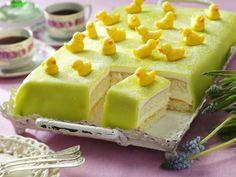 Påskekake: 5 fantastiske kaker som smelter i munnen! Cake Decorating, Food And Drink, Pudding, Sweets, Bread, Cheese, Baking, Drinks, Decoration
