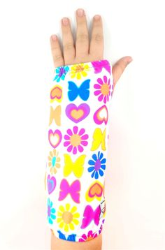 My Recovers fashionable arm cast covers keep your cast clean, snag-free, and they even have a storage pocket so you don't have to use your free hand to carry your keys. Feel fabulous during recovery and you just might heal better too!
