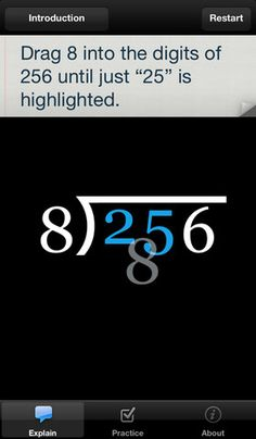 Long Division Touch: (Free)