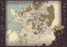 Map of WindHall by Hellstern.deviantart.com