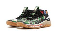 Details about bape x adidas dame 4 green camo 2407f55c9