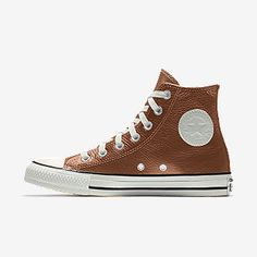 Converse by You. Choose from unique colors, patterns and materials and add personalized text to create a shoe you can call your own. Chuck Taylor Boots, Converse Chuck Taylor Leather, Custom Converse Shoes, Custom Shoes, Men's Sneakers, High Top Sneakers, Nike Co, Mens Gear, Leather High Tops
