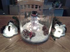 Majestic Hurricane with Mr. Snow and Polar Bear tealight holders www.partylite.biz/theresaphillips