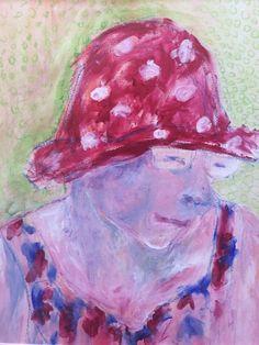 portret van moeder