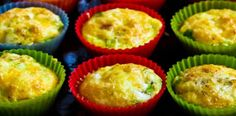 Fresh Inspiration Group   –  Mini Quiches with a Sweet Potato Crust