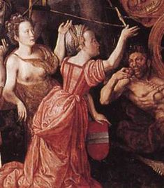 Italian Working class dress, Alegory of Peace (1577) by Claeissens