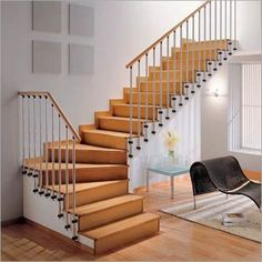gaya tangga modern rumah minimalis 2015
