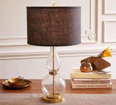 Jasmine Fluted Glass Table Lamp Base