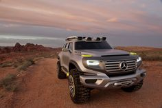 The Mercedes-Benz Ener-G-Force Concept SUV
