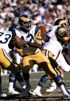 Vince Ferragamo | Los Angeles Rams | Pinterest | The o ...