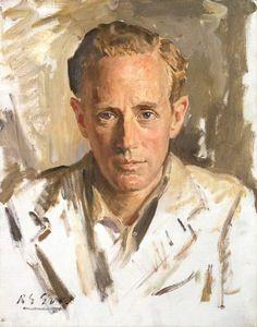 """ Leslie Howard by Reginald Grenville Eves, National Portrait Gallery, London """