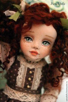Коллекционные куклы ручной работы. Ярмарка Мастеров - ручная работа. Купить Tutta. Handmade. Коричневый, смешанная техника, заяц игрушка