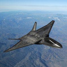Lockheed Nxt Gen Stealth Fighter Concept