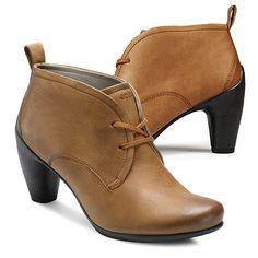 ECCO SCULPTURED 65 - Low Cut Lace Boot, Visit http://ecco.com/facebook #eccosmile #sculptured65