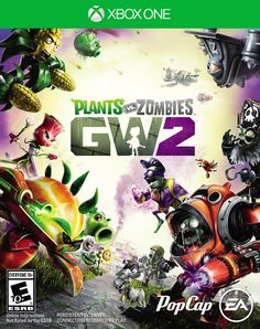 Plants vs. Zombies Garden Warfare 2 Xbox One Physical Game Disc US