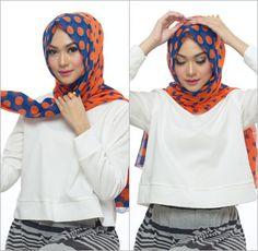 Cara Memakai Hijab Pashmina Praktis