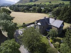 Birds eye view of Stonecroft, situated in the beautiful Edale valley