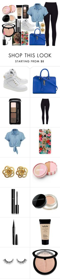 """""""casual"""" by aliciadelgado on Polyvore featuring beauty, Moschino, Yves Saint Laurent, Rifle Paper Co, jane, Chanel, Marc Jacobs, NYX, Sephora Collection and MAC Cosmetics"""