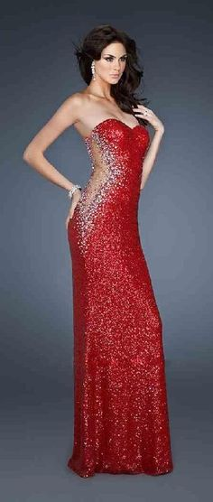Fashion A-Line Red Long Natural Sweetheart Prom Dress lkxdresses16487xdf #longdress #promdress