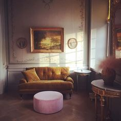 MeliMeli sofa and Ottoman from Att Pynta