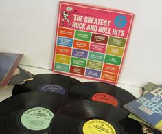 The Greatest Rock and Roll Hits  Vinyl 4 LP by AjsRockinRecordCo, $11.95