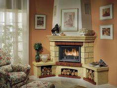 Diy Fire Pit, Home Remodeling, Decoration, Living Room, Interior Design, Mykonos, Evans, Pizza, Home Decor
