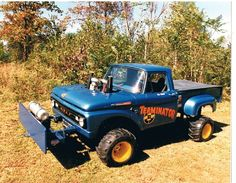 61 ford tractor pull truck