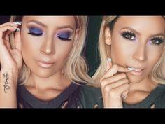 Anastasia Beverly Hills Artist Palette Makeup Look - Desi Perkins Purple Makeup Looks, Subtle Makeup, Love Makeup, Makeup Tips, Makeup Tutorials, Eyeshadow Tutorials, Beauty Tutorials, Pretty Makeup, Makeup Products