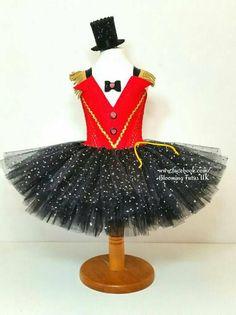 b7fd1ab1c94 Sparkly Ringmaster Inspired Tutu Dress and Sparkly Hat-Birthday