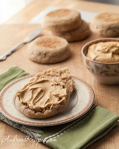 Pumpkin Cream Cheese Spread - Great to make with leftovers from the pumpkin cheesecake!