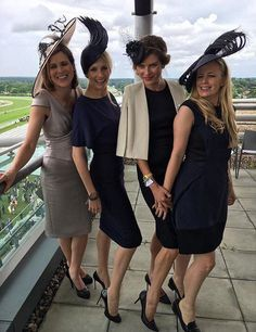 Furlong Fashion : Day One Royal Ascot 2016 Race Day Outfits, Derby Outfits, Races Outfit, Ascot Outfits 2017, Derby Attire, Kentucky Derby Outfit, Kentucky Derby Fashion, Melbourne Cup Fashion, Tea Party Outfits