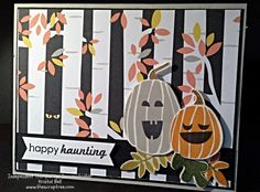 Halloween Card using Fall Fest, Stampin' Up!
