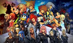 Kingdom Hearts HD Remix is set to arrive this year, as promised, setting a December 2 release date. The trailer also reveals that Kingdom Hearts III is Kingdom Hearts Hd, Kingdom Hearts Wallpaper, Kingdom Hearts Characters, Heart Wallpaper, Wallpaper Backgrounds, Windows Wallpaper, Wallpaper Desktop, Magic Kingdom, Iphone Wallpapers