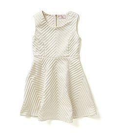 GB Girls 716 Chevron Jacquard Dress #Dillards