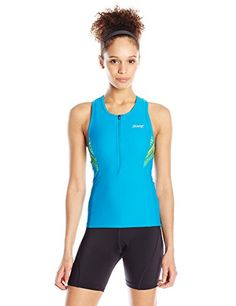 ZOOT Womens Performance Tri Tank Top Tribal Large     Want additional info   Click 90bba4a80