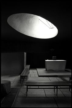A magical place of silence and light La Tourette, 2001