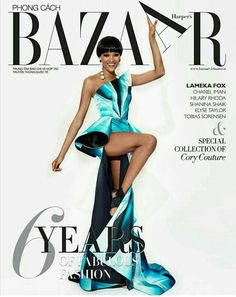 Lameka Fox for Harper's Bazaar Vietnam September 2017
