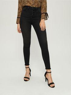 High Waist Jeans, Black Jeans, Skinny, Pants, Dresses, Style, Fashion, Swag, Moda