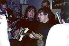 John Lennon playing a Jazzmaster, ca. 1966