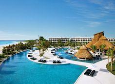 Secrets Maroma Beach Playa Maroma, Mexico cielo Resort propiedad resort ciudad piscina ocio azul caribe Mar condominio trópico Lagoon Villa Island