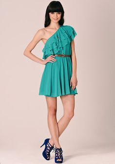Green TFNC Angel Dress