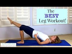 The Best Leg Workout - Pilates Butt Exercises for Home! - YouTube