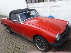 eBay: mg midget 1977 red
