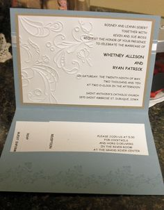 com- BJ Peters, Stampin' Up! Homemade Wedding Invitations, Wedding Invitation Cards, Invitation Ideas, Wedding Shower Cards, Wedding Cards, Engagement Cards, Wedding Engagement, Paper Crafts Wedding, Wedding Anniversary Cards