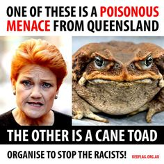 Pauline Hanson (above) is probably Australia's most prolific far right politician. Pauline began her political career in the early 90′s within the Liberal Party. It wasn't long before her extreme right nationalist views made her a problem for the party in 1996, especially when she vocally opposed giving of government aid and compensation to Aboriginal communities.   After being kicked out of the Liberal Party, she formed her own One Nation party, a nationalist party that was firmly anti…