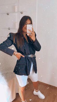 Dámske čierne sako s opaskom. Doplň tento štylový kúsok do svojho šarníka. #womanlook #summerlook #summerfashion