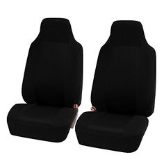 FH GROUP FH-FB102102 Classic Cloth Pair Bucket Seat Covers Black color. For product info go to:  https://www.caraccessoriesonlinemarket.com/fh-group-fh-fb102102-classic-cloth-pair-bucket-seat-covers-black-color/
