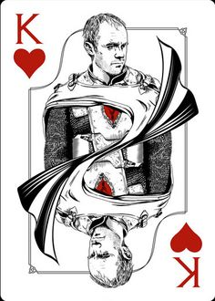 Playing Cards - King Of Hearts, Stannis, Game Of Thrones Playing Cards by Paul Nojima, Time Void - playingcards, playingcardsart, playingcardsforsale, playingcardswithfriends, playingcardswiththefamily, playingcardswithfamily, playingcardsgame, playingcardscollection, playingcardstorage, playingcardset, playingcardsfreak, playingcardsproject, cardscollectors, cardscollector, playing_cards, playingcard, design, illustration, cardgame, game, cards, cardist
