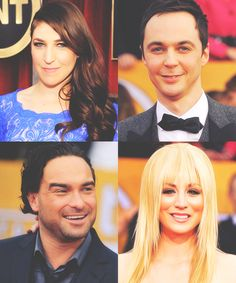 The cast at the SAG awards